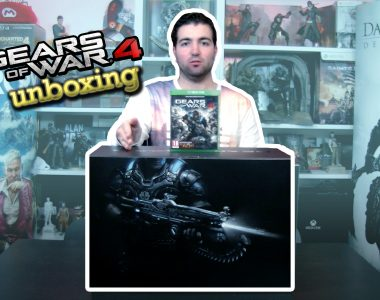 [UNBOXING] Gears of War 4 Collector's Edition