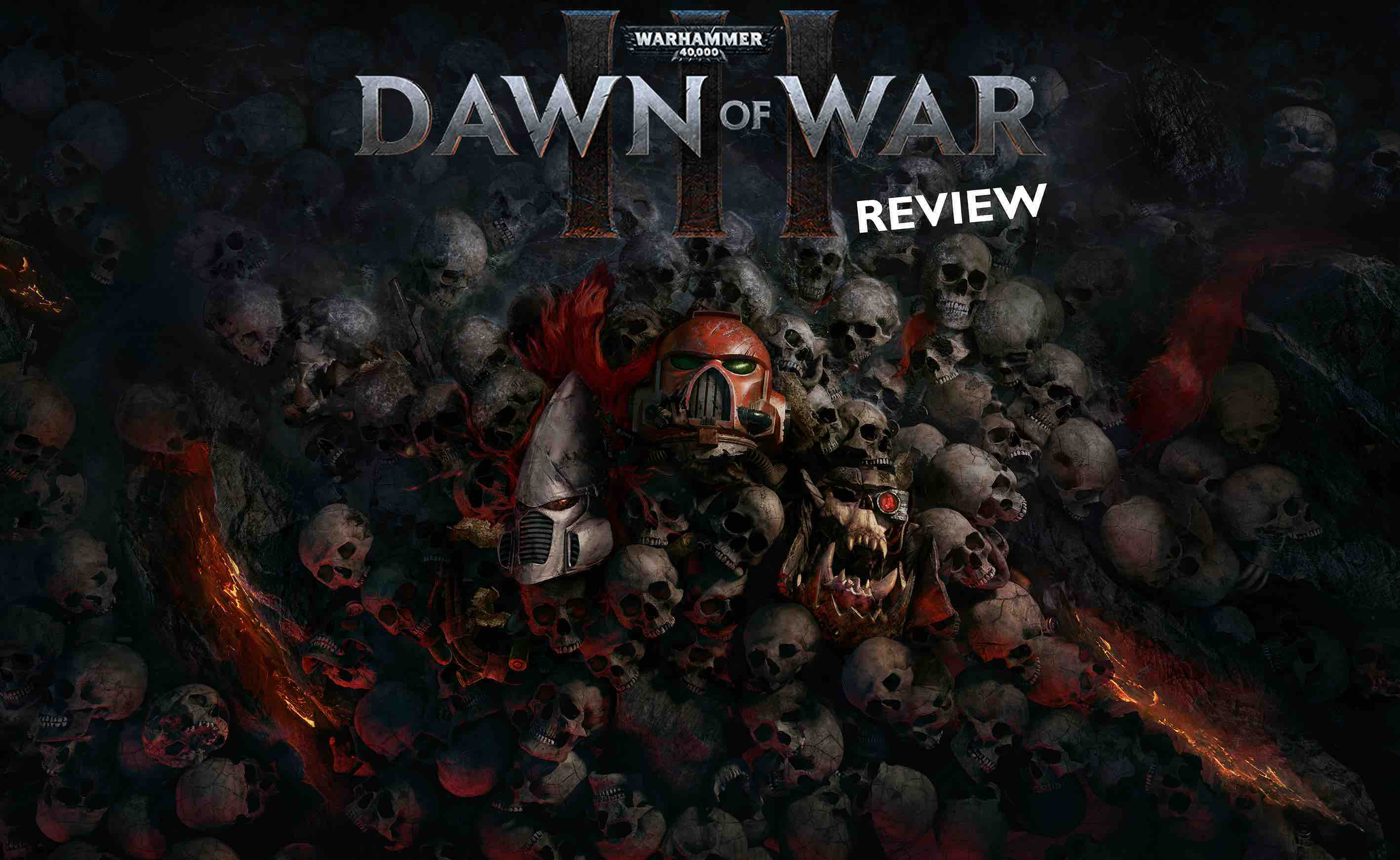 Warhammer 40.000- Dawn of War III - review